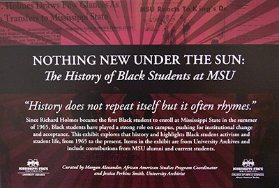 "Intro card from the ""Nothing New Under the Sun"" exhibit."